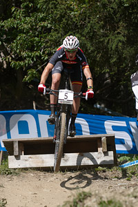 Pablo Rodriguez Guede at UCI World Cup XCO / XCE / DHI 7 - Méribel (2014)