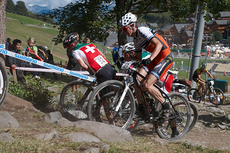 Pavel Skalicky at UCI World Cup XCO / XCE / DHI 7 - Méribel (2014)