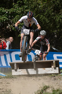 Philipp Bertsch at UCI World Cup XCO / XCE / DHI 7 - Méribel (2014)