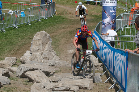 Philipp Hediger at UCI World Cup XCO / XCE / DHI 7 - Méribel (2014)