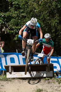 Raphael Gay at UCI World Cup XCO / XCE / DHI 7 - Méribel (2014)