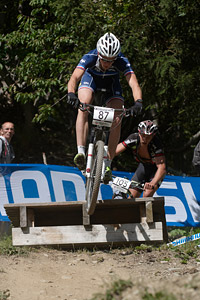 Romain Bernier at UCI World Cup XCO / XCE / DHI 7 - Méribel (2014)