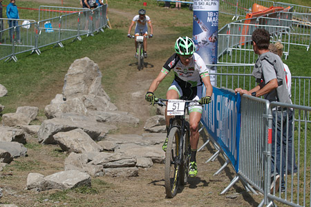 Stefano Valdrighi at UCI World Cup XCO / XCE / DHI 7 - Méribel (2014)