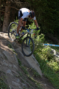Sven Strähle at UCI World Cup XCO / XCE / DHI 7 - Méribel (2014)