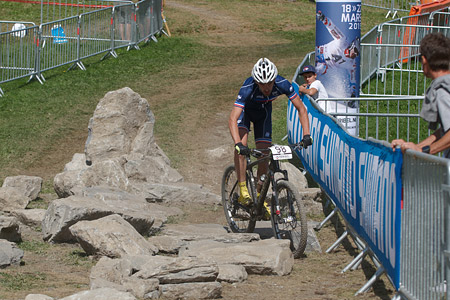 Thomas Griot at UCI World Cup XCO / XCE / DHI 7 - Méribel (2014)