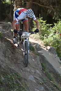 Tomas Paprstka at UCI World Cup XCO / XCE / DHI 7 - Méribel (2014)