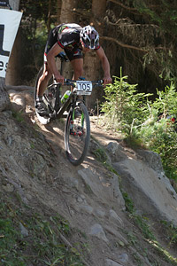 Victor Pinthon at UCI World Cup XCO / XCE / DHI 7 - Méribel (2014)