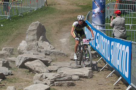 Alice Pirard at UCI World Cup XCO / XCE / DHI 7 - Méribel (2014)