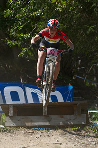 Anne Terpstra at UCI World Cup XCO / XCE / DHI 7 - Méribel (2014)