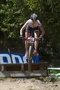 Annie Last at UCI World Cup XCO / XCE / DHI 7 - Méribel (2014)