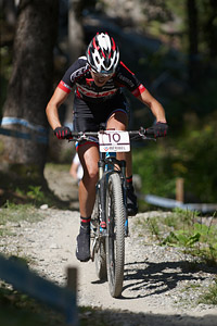 Blaza Klemencic at UCI World Cup XCO / XCE / DHI 7 - Méribel (2014)