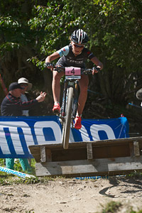 Emily Batty at UCI World Cup XCO / XCE / DHI 7 - Méribel (2014)