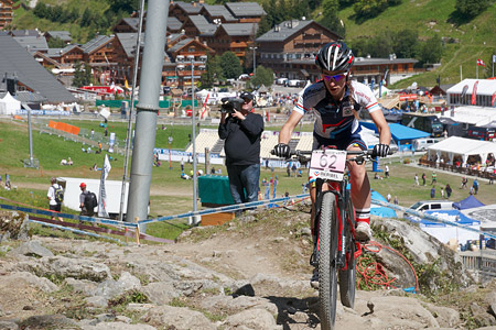 Fabienne Schaus at UCI World Cup XCO / XCE / DHI 7 - Méribel (2014)