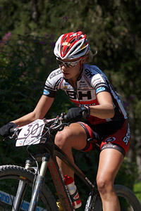 Hanna Klein at UCI World Cup XCO / XCE / DHI 7 - Méribel (2014)