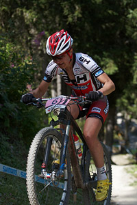 Helene Marcouyre at UCI World Cup XCO / XCE / DHI 7 - Méribel (2014)