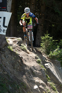 Hielke Elferink at UCI World Cup XCO / XCE / DHI 7 - Méribel (2014)