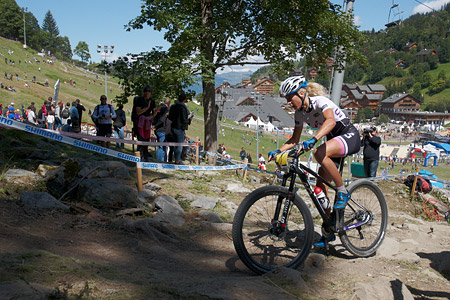 Jolanda Neff at UCI World Cup XCO / XCE / DHI 7 - Méribel (2014)