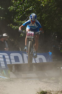 Kateřina Nash at UCI World Cup XCO / XCE / DHI 7 - Méribel (2014)