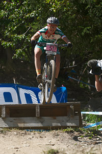 Laura Lorenza Morfin Macouzet at UCI World Cup XCO / XCE / DHI 7 - Méribel (2014)