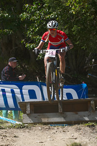 Lene Byberg at UCI World Cup XCO / XCE / DHI 7 - Méribel (2014)