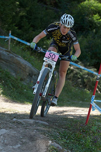 Lucie Vesela at UCI World Cup XCO / XCE / DHI 7 - Méribel (2014)