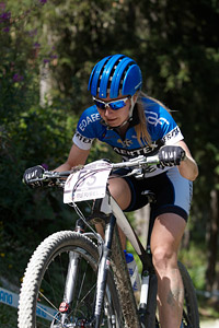 Maaris Meier at UCI World Cup XCO / XCE / DHI 7 - Méribel (2014)