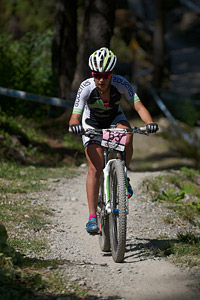 Marine Groccia at UCI World Cup XCO / XCE / DHI 7 - Méribel (2014)