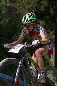 Mercedes Pacios Pujado at UCI World Cup XCO / XCE / DHI 7 - Méribel (2014)