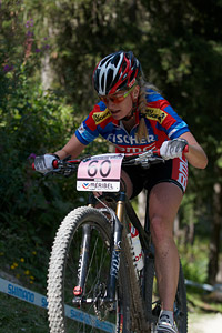 Michelle Hediger at UCI World Cup XCO / XCE / DHI 7 - Méribel (2014)