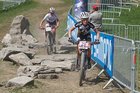 Mikaela Kofman at UCI World Cup XCO / XCE / DHI 7 - Méribel (2014)