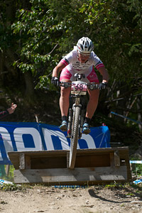 Nathalie Schneitter at UCI World Cup XCO / XCE / DHI 7 - Méribel (2014)