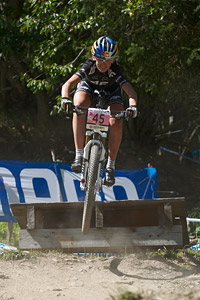 Paula Gorycka at UCI World Cup XCO / XCE / DHI 7 - Méribel (2014)