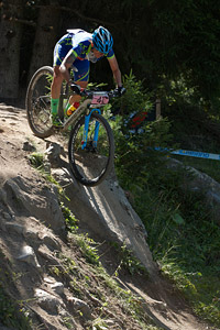 Sandra Santanyes Murillo at UCI World Cup XCO / XCE / DHI 7 - Méribel (2014)