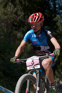 Tanja Zakelj at UCI World Cup XCO / XCE / DHI 7 - Méribel (2014)