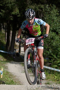 Aleksandra Podgórska at UCI World Cup XCO / XCE / DHI 7 - Méribel (2014)