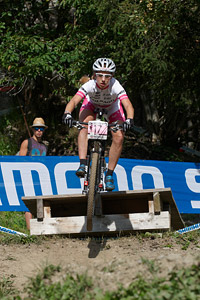 Andrea Waldis at UCI World Cup XCO / XCE / DHI 7 - Méribel (2014)