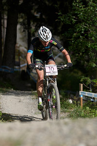 Barbora Machulkova at UCI World Cup XCO / XCE / DHI 7 - Méribel (2014)