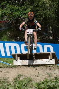Estelle Boudot at UCI World Cup XCO / XCE / DHI 7 - Méribel (2014)
