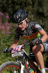 Giulia Gaspardino at UCI World Cup XCO / XCE / DHI 7 - Méribel (2014)