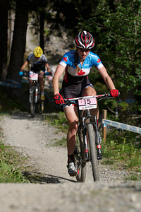 Haley Smith at UCI World Cup XCO / XCE / DHI 7 - Méribel (2014)