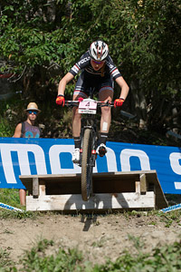 Helen Grobert at UCI World Cup XCO / XCE / DHI 7 - Méribel (2014)