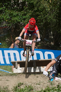 Ingrid Sofie Bøe Jacobsen at UCI World Cup XCO / XCE / DHI 7 - Méribel (2014)