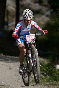 Kristina Kirillova at UCI World Cup XCO / XCE / DHI 7 - Méribel (2014)