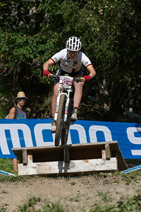 Lena Putz at UCI World Cup XCO / XCE / DHI 7 - Méribel (2014)