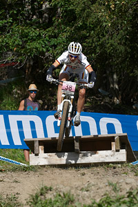 Lena Wehrle at UCI World Cup XCO / XCE / DHI 7 - Méribel (2014)