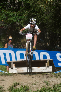 Margot Moschetti at UCI World Cup XCO / XCE / DHI 7 - Méribel (2014)