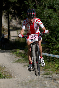 Marta Turoboś at UCI World Cup XCO / XCE / DHI 7 - Méribel (2014)