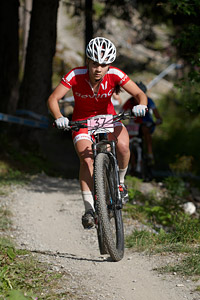 Rachel Pageau at UCI World Cup XCO / XCE / DHI 7 - Méribel (2014)