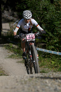 Sofia Wiedenroth at UCI World Cup XCO / XCE / DHI 7 - Méribel (2014)