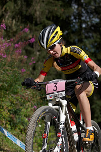 Yana Belomoyna at UCI World Cup XCO / XCE / DHI 7 - Méribel (2014)